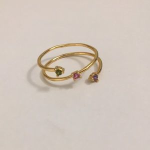 💜💜Host Pick🎉🎉 NWT Anthropologie Wrap Ring